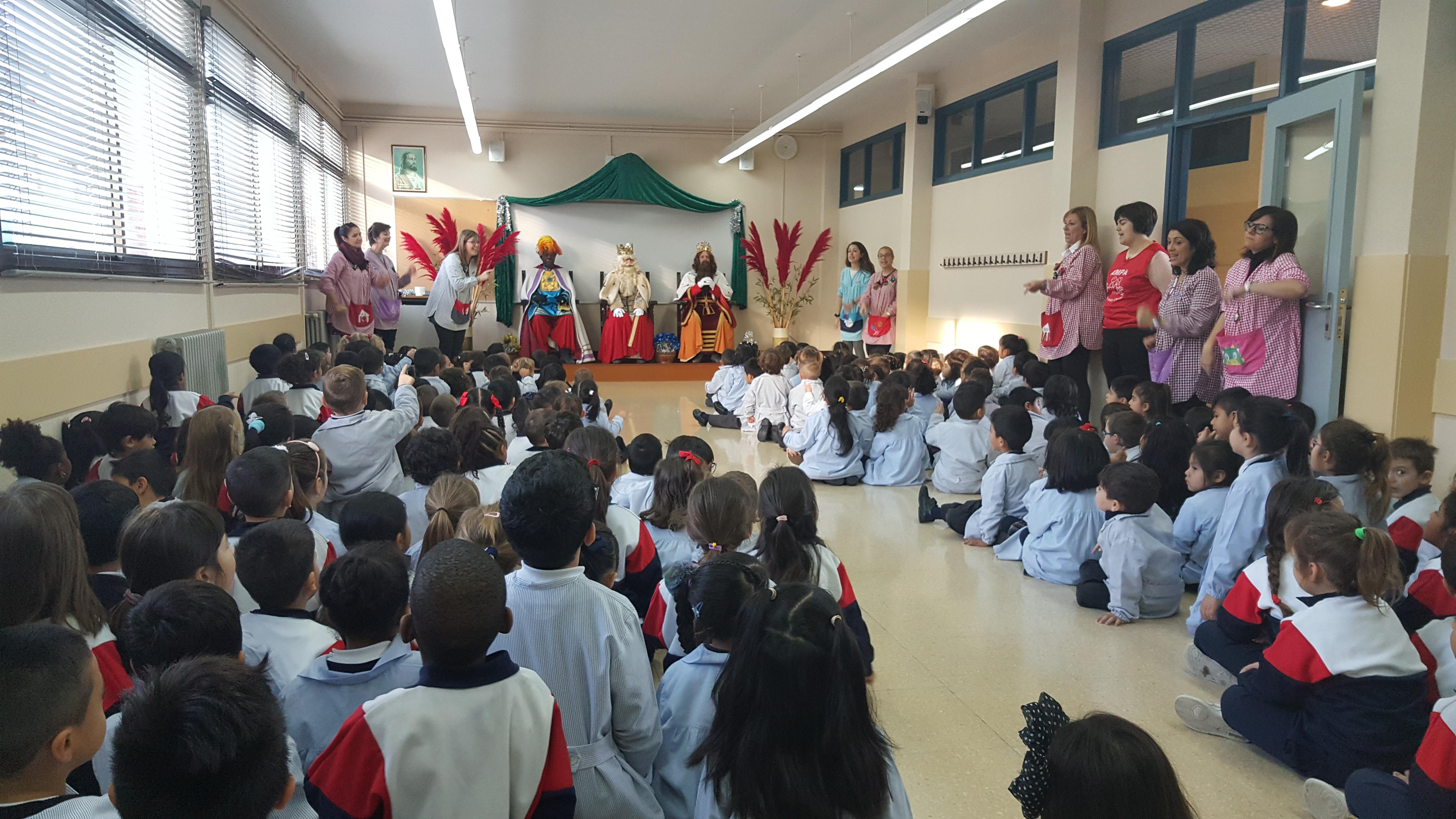 Ed. Infantil.Sant Josep Obrer. Hospitalet. Reis i Tió (64)