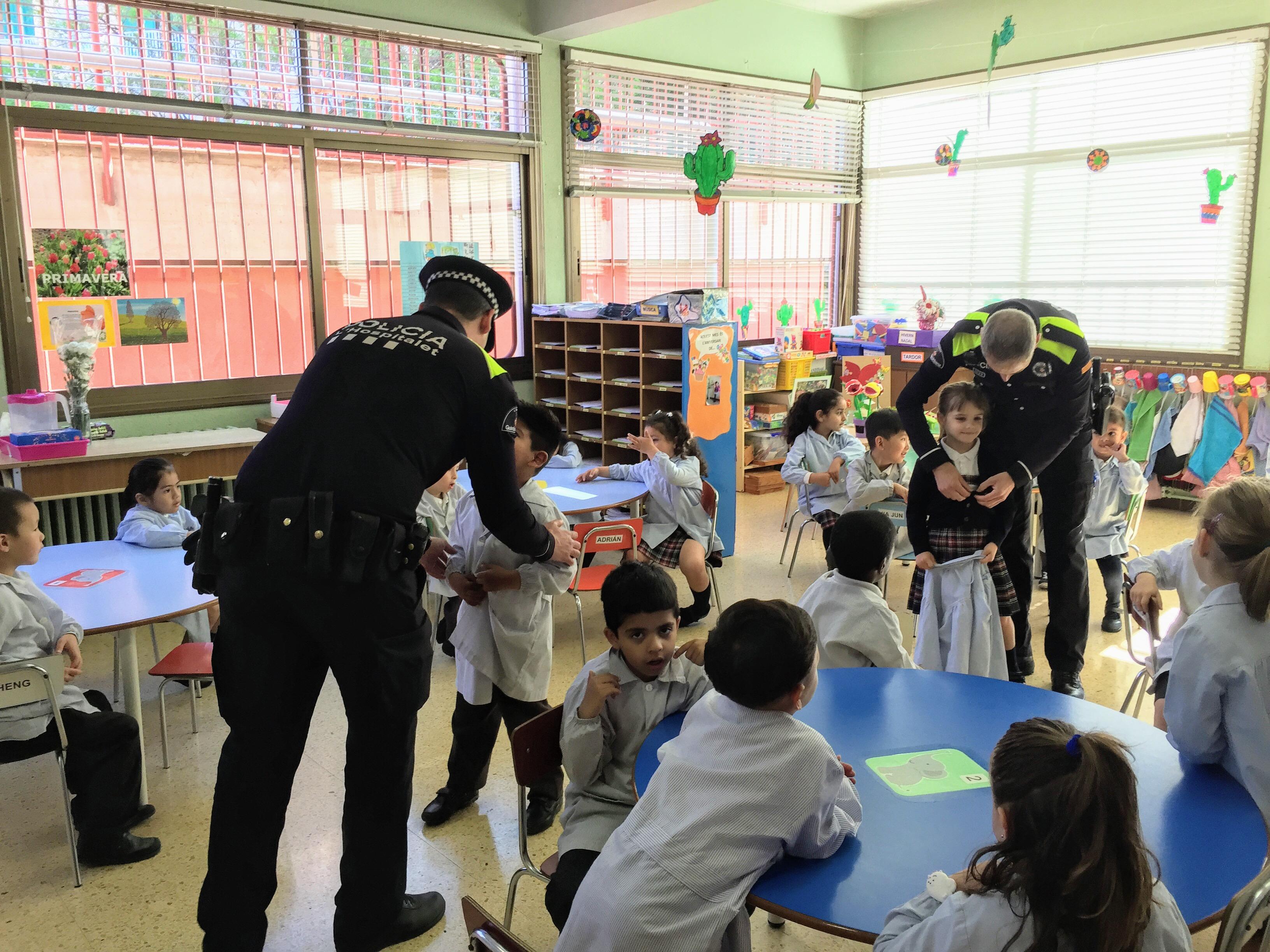 Educació Infatntil st Josep obrer Hospitalet Guàrdia urbana (11)
