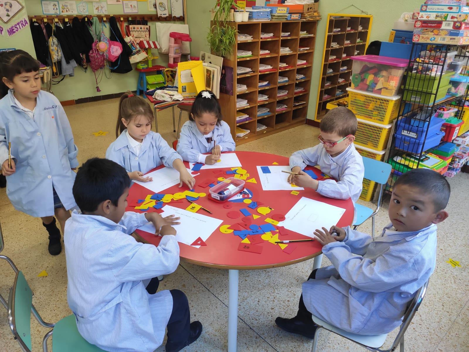 Educació Infantil. Sant Josep Obrer. Hospitalet.Treballem Picasso P5 (18)